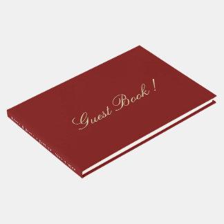 Livre d'invité pour le mariage ou l'affaire de