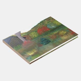 Livre d'invité vibrant d'automne