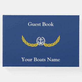 Livre D'or Bateau, naviguant le yacht ou les canots
