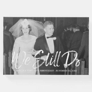 Livre D'or cinquantième Anniversaire de mariage avec la photo