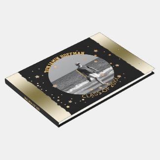 Livre D'or Fête de remise des diplômes noire faite sur
