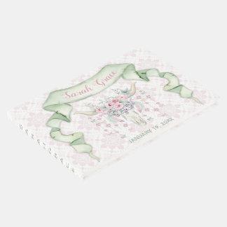 Livre D'or Menthe florale tribale de rose de flèches de