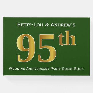 Livre D'or Vert, fête d'anniversaire de mariage d'or