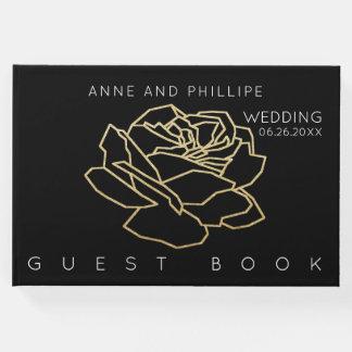 livre noir de mariage pour un événement mémorable
