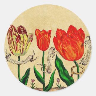 Livres De Fleurs Sticker