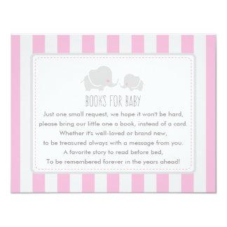 Livres pour le bébé - carte de jeu de baby shower