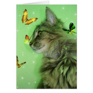 ll de minou de papillon carte