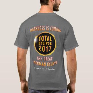 L'obscurité est prochaine grande éclipse t-shirt
