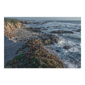 L'océan donnent sur la copie 2 poster