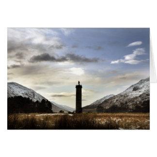 Loch Sheil, les montagnes Carte De Vœux