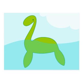 locki le monstre de Loch Ness Carte Postale