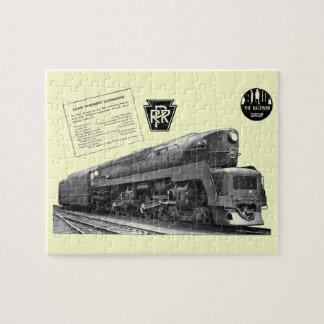 Locomotive à vapeur de T-1 de chemin de fer de la Puzzle