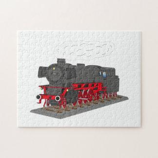 Locomotive de vapeur puzzle