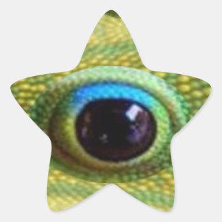 L'oeil du dragon chinois chanceux - TUERA le MAL Sticker Étoile