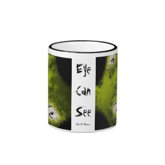 L'oeil peut voir mug ringer