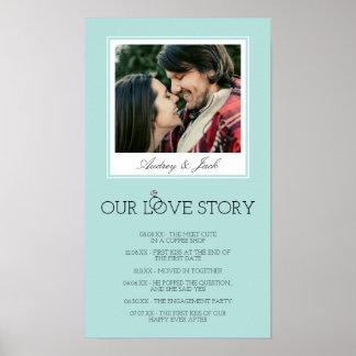 L'oeuf Love Story l'épousant bleu de Robin