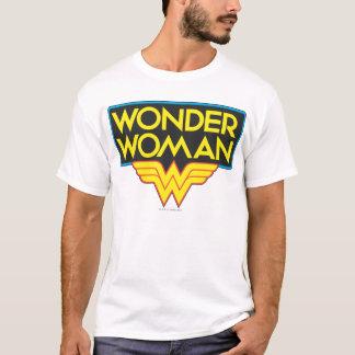 Logo 3 de femme de merveille t-shirt