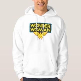 Logo 3 de femme de merveille veste à capuche