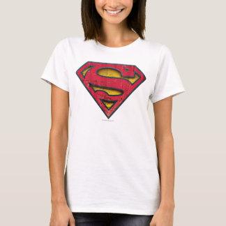 Logo affligé par | de S-Bouclier de Superman T-shirt
