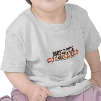 Logo Apparell, couleurs claires de double Chin T-shirt