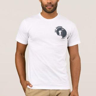 Logo astucieux T - blanc de nomade T-shirt