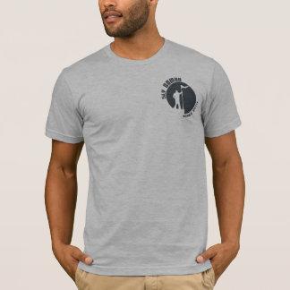 Logo astucieux T - gris de nomade T-shirt
