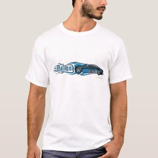 Logo bleu de Batman   Batmobile T-shirt