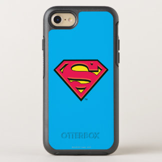 Logo classique 3 du S-Bouclier | de Superman Coque OtterBox Symmetry iPhone 8/7