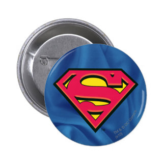 Logo classique du S-Bouclier   de Superman Badge Rond 5 Cm