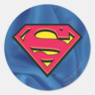 Logo classique du S-Bouclier   de Superman Sticker Rond