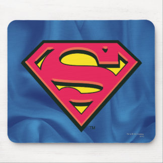 Logo classique du S-Bouclier   de Superman Tapis De Souris