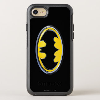 Logo classique du symbole | de Batman Coque OtterBox Symmetry iPhone 8/7