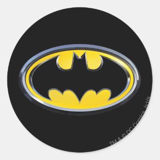 Logo classique du symbole | de Batman Sticker Rond