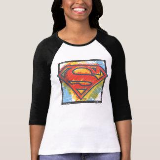 Logo coloré par | de S-Bouclier de Superman T-shirt