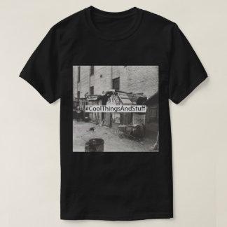 Logo de boîte : St de commerçant de tissus de T-shirt