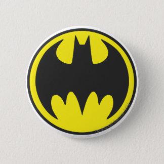 Logo de cercle de batte du symbole | de Batman Badge Rond 5 Cm