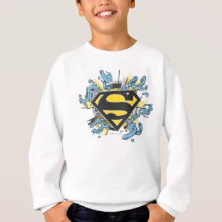 Logo de chaînes du S-Bouclier | de Superman Sweatshirt