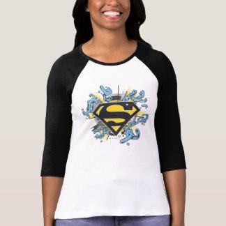 Logo de chaînes du S-Bouclier   de Superman T-shirt