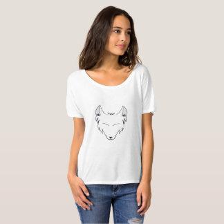 Logo de commerçant de tissus de Lindsey T-shirt