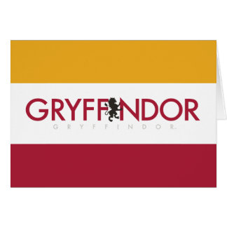 Logo de fierté de Chambre de Harry Potter | Carte De Vœux