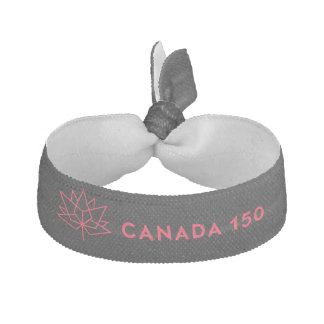 Logo de fonctionnaire du Canada 150 - noir et Élastique Pour Cheveux