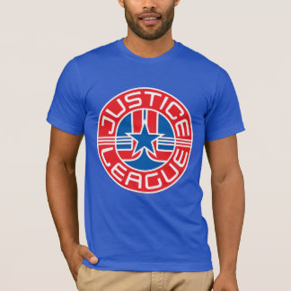 Logo de ligue de justice t-shirt