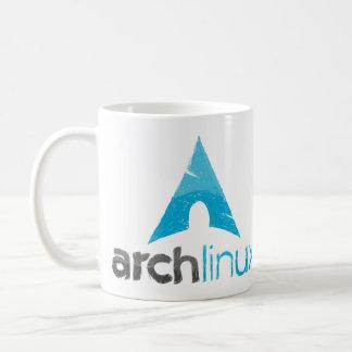 Logo de Linux de voûte Mug Blanc