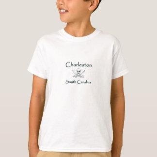Logo de pirate de Charleston la Caroline du Sud T-shirt