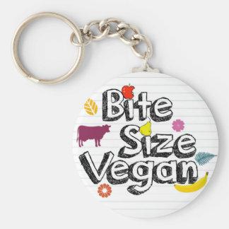 Logo de porte - clé végétalien de taille de porte-clés