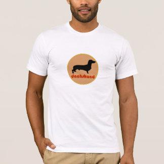 Logo de profil de teckel t-shirt