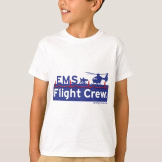 Logo de remplaçant d'hélicoptère d'équipage des t-shirt
