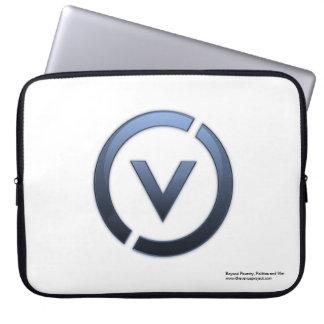 logo de sleev d'ordinateur portable de tvp housses pour ordinateur portable