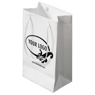 Logo de Small Gift Bag Custom Company promotionnel Petit Sac Cadeau