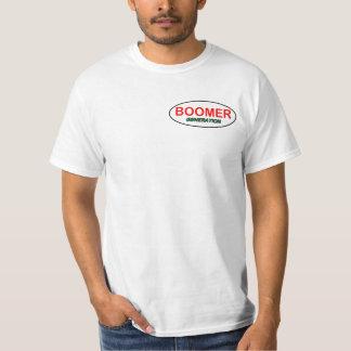 Logo de T-shirt de génération de baby boomer